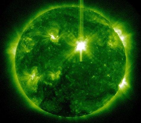 На Солнце произошла вторая вспышка высшего балла в новом 24-м солнечном цикле
