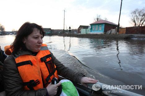 Паводковая ситуация в Саратовской области