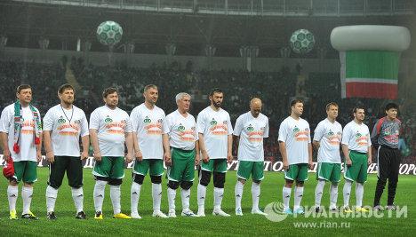 Футболисты команды Кавказ