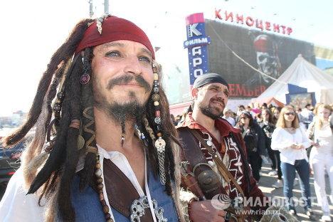 Премьера фильма Пираты Карибского моря: На странных берегах