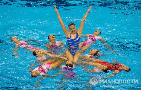 Сборная Китая по синхронному плаванию