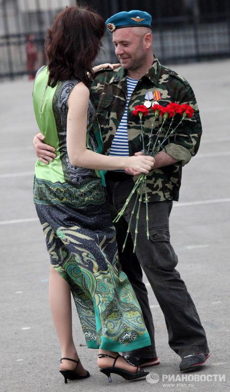 Празднования Дня Воздушно-десантных войск во Владивостоке
