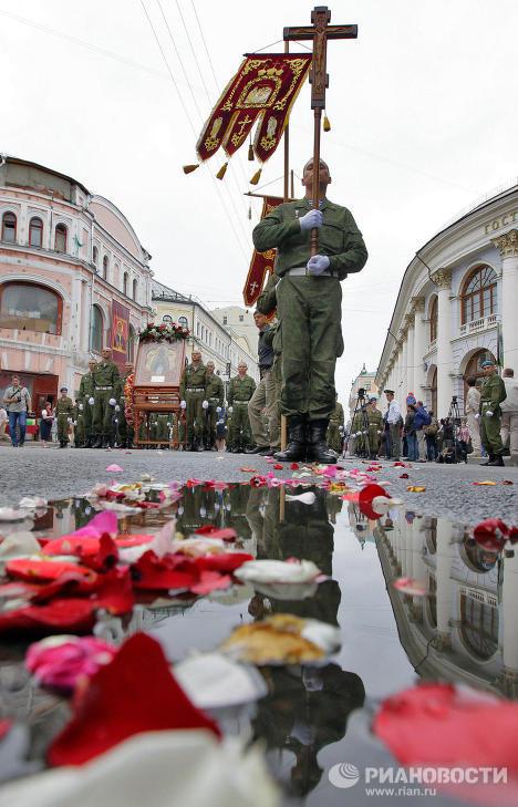 Праздник Ильин день на улице Ильинке