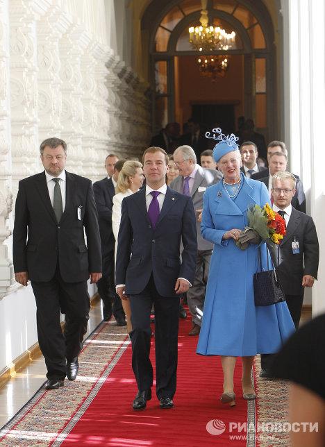 Государственный визит королевы Дании Маргрете II в Россию