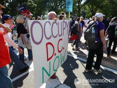 Акции протеста в Вашингтоне