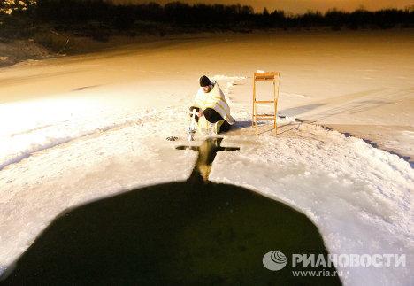 Крещенские купания под Минском