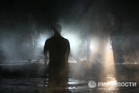 Крещенские купания в Новосибирске