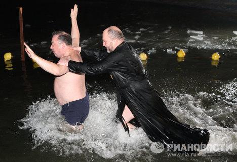 Крещенские купания в Калининграде