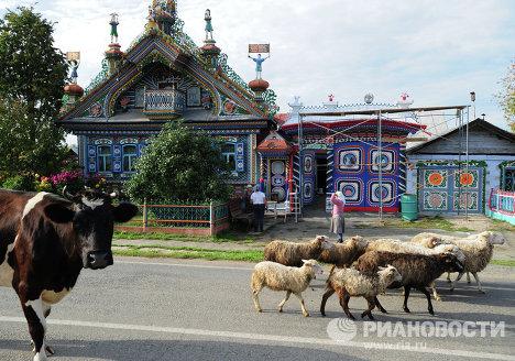Дом кузнеца Кириллова в деревне Кунара Свердловской области