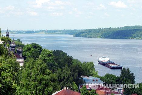 Река Волга, г. Плес