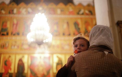 Празднование Рождества Христова в Новгородской области
