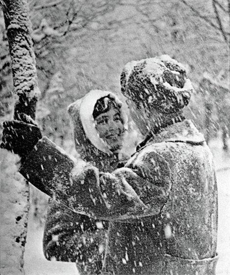Влюбленные зимой