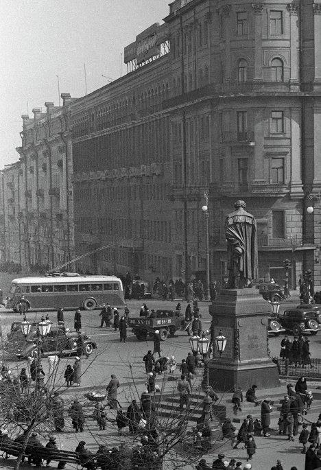 Страстная площадь в Москве