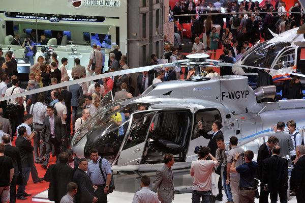 Выставка вертолетной индустрии HeliRussia 2013