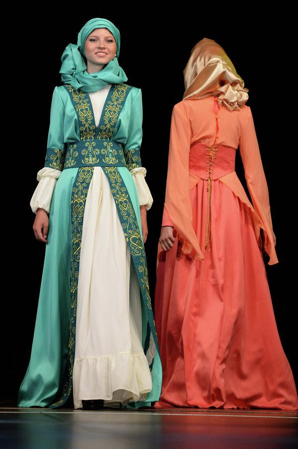 Фестиваль мусульманской моды Islamic clothes в Казани