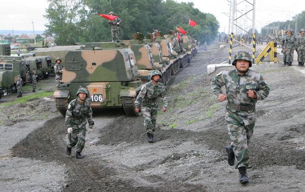 Совместные российско-китайские учения Мирная миссия-2013