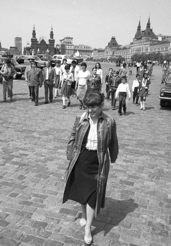 Герой Советского Союза, летчик-космонавт СССР Светлана Савицкая