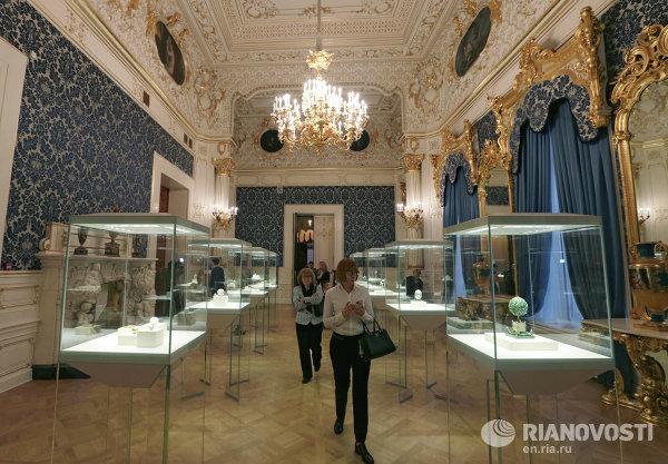 Презентация Музея Фаберже в Санкт-Петербурге