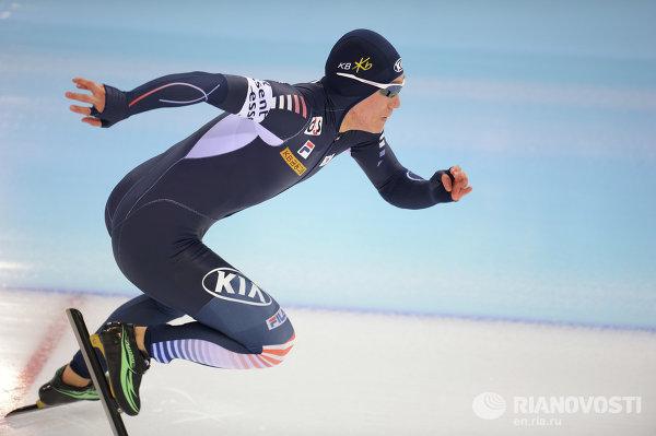 Конькобежный спорт. Чемпионат мира. 500 метров. Мужчины