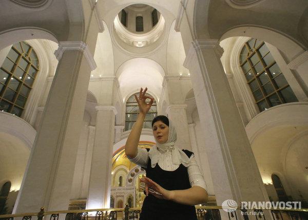 Рождественское богослужение в кафедральном соборе Христа Спасителя в Калининграде