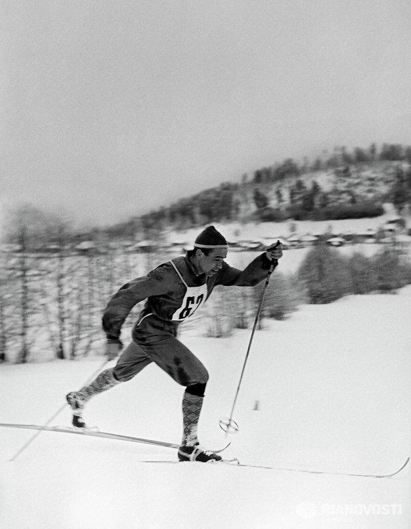 Лыжник, заслуженный мастер спорта Николай Аникин