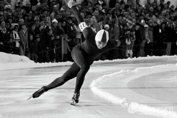 Заслуженный мастер спорта в беге на коньках Валерий Муратов