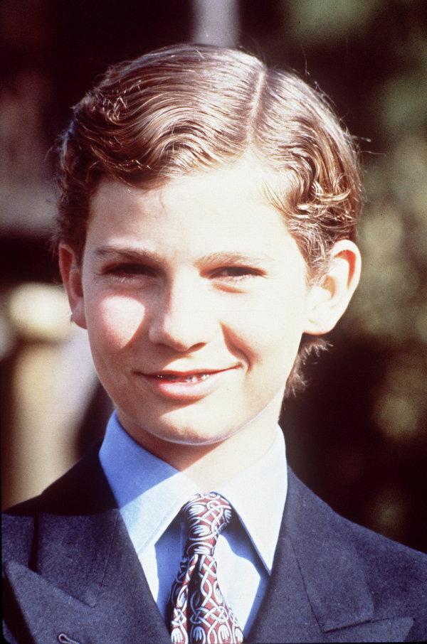 Принц Фелипе в детстве. 1983