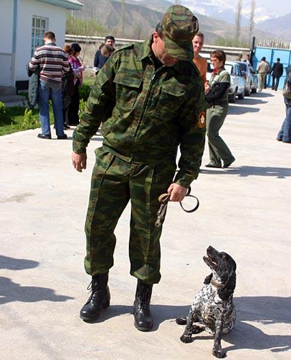 La perra Dina es campeona en búsqueda de estupefacientes: ha ayudado a descubrir 164 kilos de heroína.