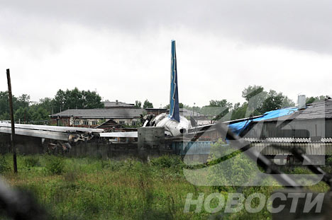 ACCIDENTE AÉREO EN SIBERIA