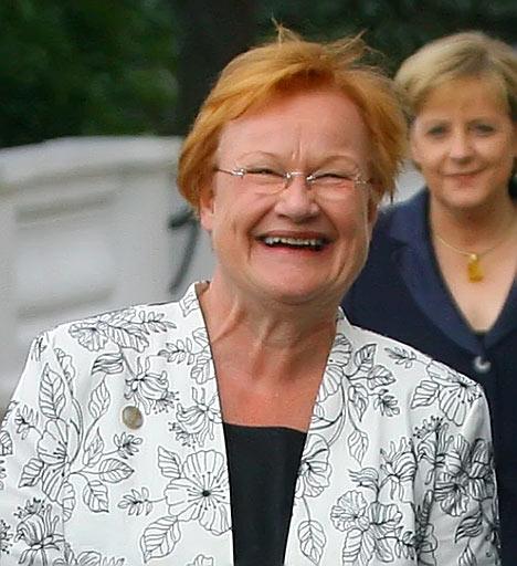 Presidenta de Finlandia, Tarja Halonen
