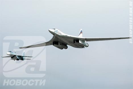 Bombarderos estratégicos rusos