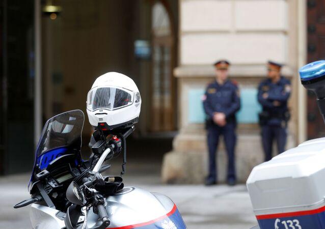 La Policía austriaca