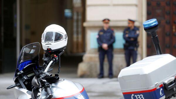 La Policía austriaca - Sputnik Mundo