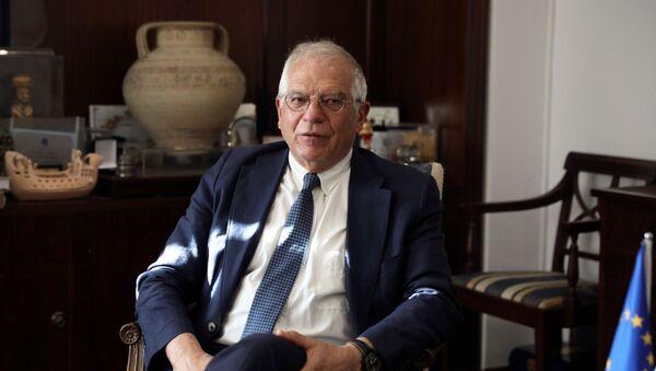 Josep Borrell, alto representante para la Política Exterior de la UE - Sputnik Mundo
