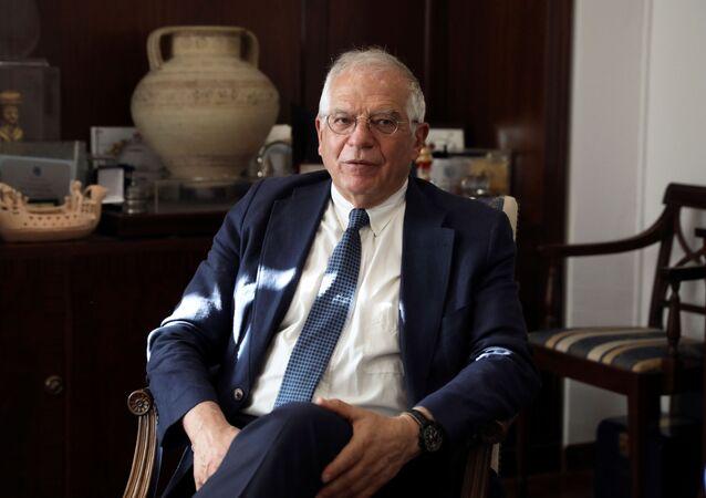 Josep Borrell, alto representante para la Política Exterior de la UE