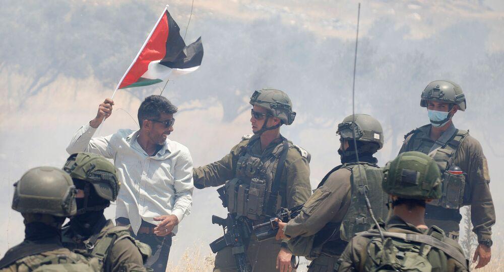 Protestas contra la anexión de Cisjordania por Israel