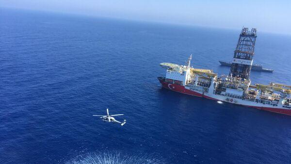 El buque de perforación turco Fatih - Sputnik Mundo