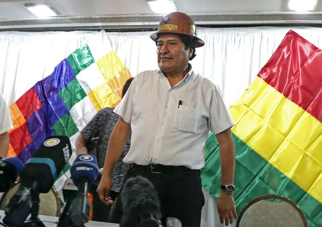 Expresidente de Bolivia, Evo Morales
