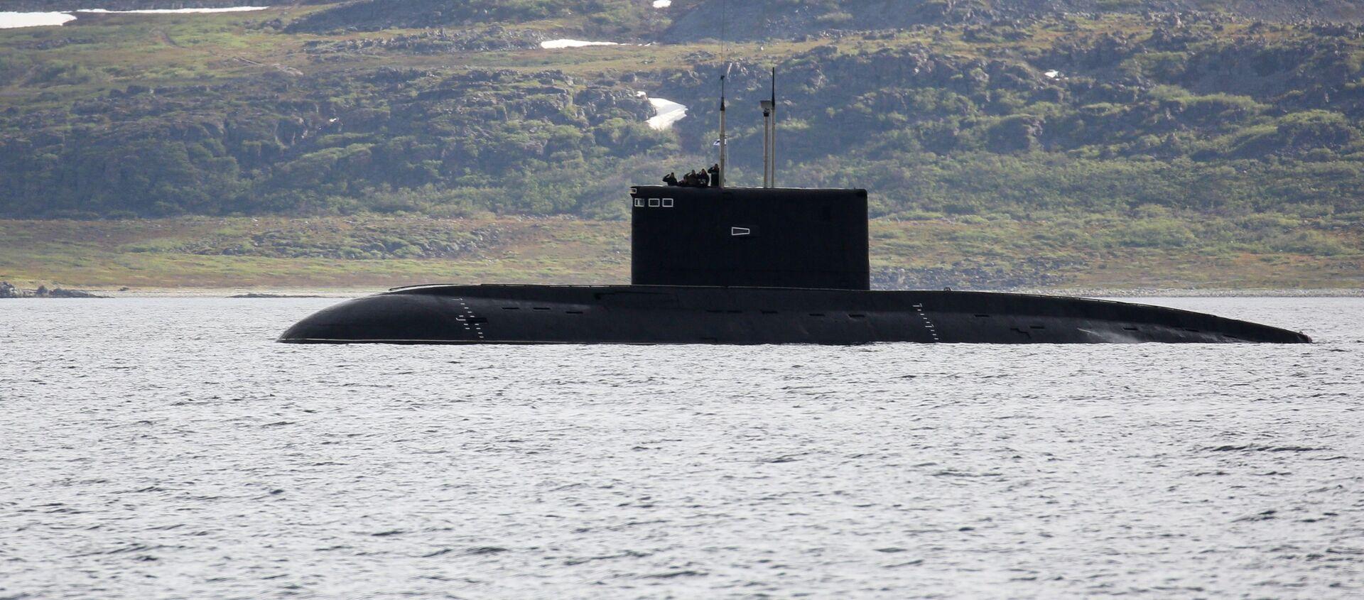 Un submarino del proyecto Paltus (imagen referencial) - Sputnik Mundo, 1920, 29.10.2020