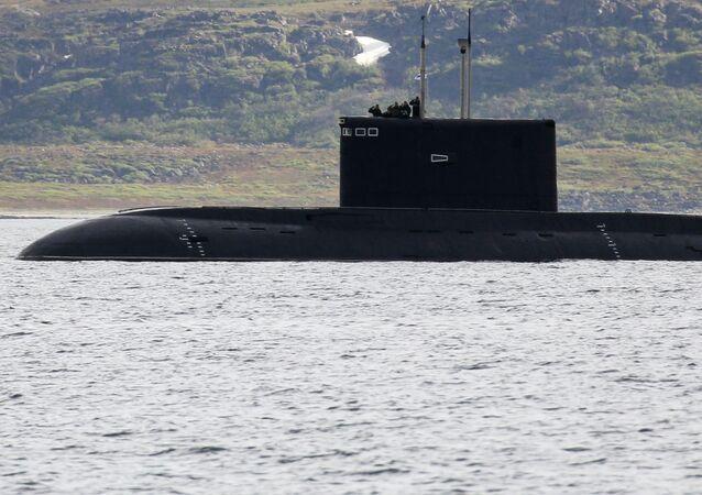 Un submarino del proyecto Paltus (imagen referencial)