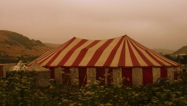 Un circo (imagen referencial) - Sputnik Mundo