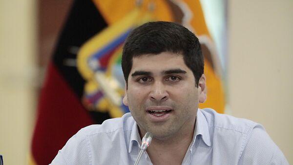 Otto Sonnenholzner, exvicepresidente de Ecuador - Sputnik Mundo