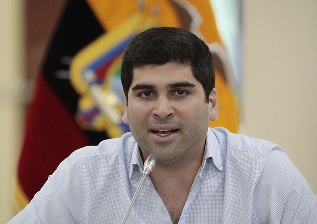 Otto Sonnenholzner, exvicepresidente de Ecuador
