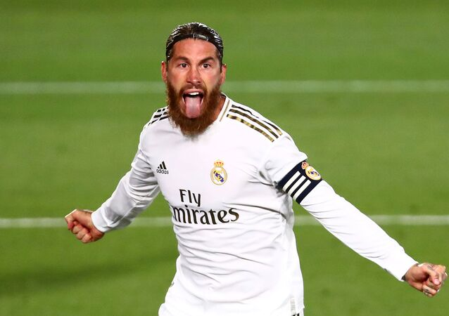 Sergio Ramos, futbolista de Real Madrid