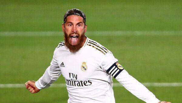 Sergio Ramos, futbolista de Real Madrid - Sputnik Mundo