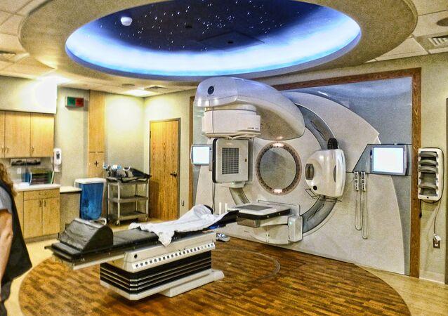 Escáner de radiación