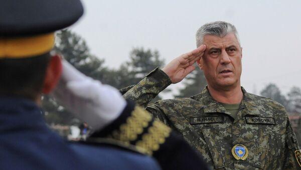 Hashim Thaci, presidente de Kosovo - Sputnik Mundo