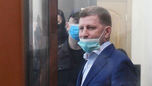 Serguéi Furgal, el gobernador de Jabárovsk - Sputnik Mundo