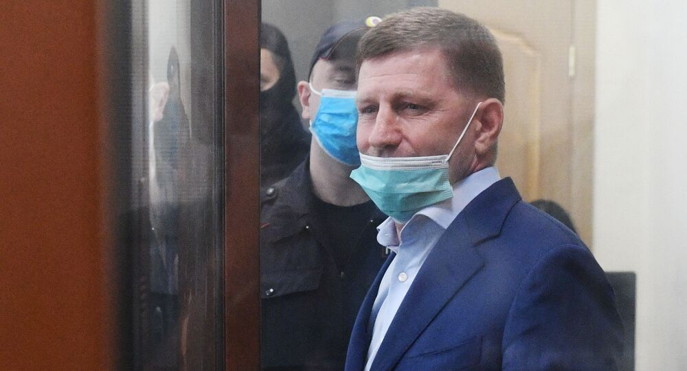 Serguéi Furgal, el gobernador de Jabárovsk
