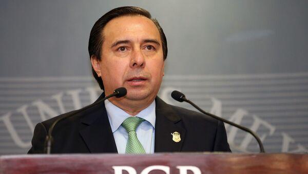 Tomás Zerón, extitular de la Agencia de Investigación Criminal (AIC) mexicana y principal responsable de la investigación del caso Ayotzinapa - Sputnik Mundo